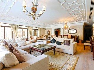 Jumeirah Zabeel Saray hotel luxury 5 bedroom lagoon villa, Palm Jumeirah