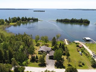 Newly remodeled home on Lake Huron within walking distance to downtown Hessel