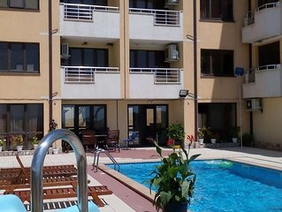 2 room 93 m2 Apartment with a Terrace and Sea View