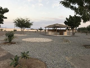 Oman getaway: Sidr eco-cabin, close desert, mountains, forts and village