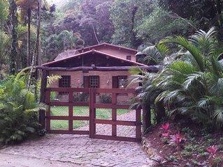 Casa de fazenda na Praia do Félix