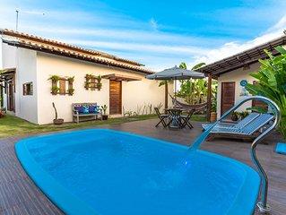 Casa em Macieo na Praia de Ipioca Hibiscus com Piscina em Condominio Fechado