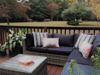 Pet-friendly Private Cottage on 1.7 Acres Super Close to Clemson Campus!