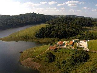 Locacao de Chales Individuais a beira da Represa Jaguari - Santa Isabel/SP