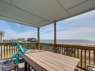 Skip - Relaxing 2 Bedroom Oceanfront Home in Rodanthe