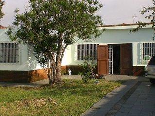 Casa ampla e decorada em Mongagua