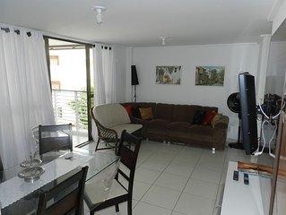Apartamento em Joao Pessoa, a beira mar da praia do Cabo Branco!!!