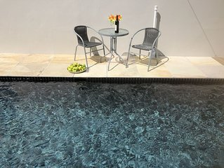Villa Unique Stellenbosch with swimming pool and garden