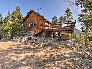 5-Acre Allenspark Cabin w/ Rocky Mntn Views & Pond