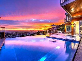 Hollywood Panoramic Infinity Villa