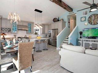 Majestic Mermaid Cottage - Private Jacuzzi, BBQ, FirePit, AC, Free Wifi