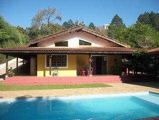 Rancho Maringa II - Atibaia - Com WIFI -  04 quartos sendo 2 suítes