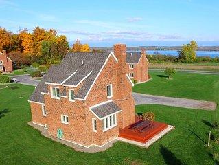 Quaint Brick Built English Cottage in the Finger Lakes Overlooking Seneca Lake