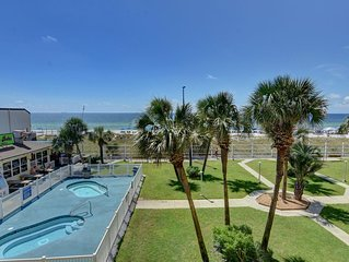 Enjoy the breathtaking view of the Gulf Of Mexico from the 3rd floor balcony