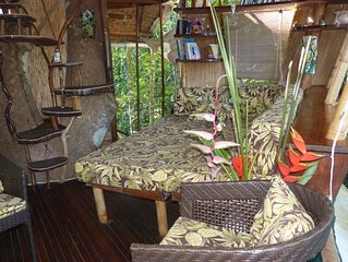 Treehouse Spa in Costa Rica near Corcovado National Park and Beach.