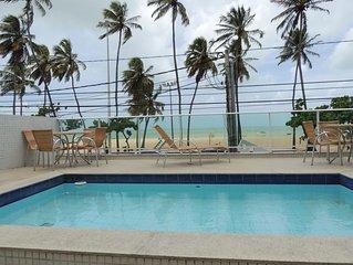 Apartamento beira-mar Maravilhoso