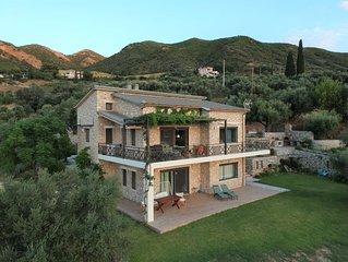 Eco stone house retreat with amazing view
