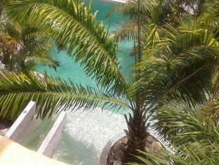 Del Cielo Spanish Style 4 Bed, 4 Bath Villa. Breathtaking Caribbean Sea Views!