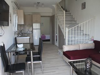 Newly built houses for rent in Greece, Nikiti Halkidikis Sithonias.