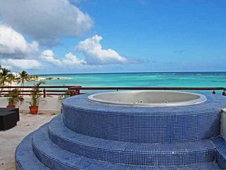 Private Beach View 3 Bedroom Penthouse!