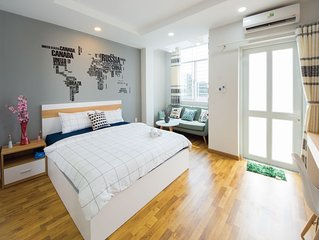 Lency Home 1-bedroom VERY NICE near Bui Vien Backpackers Street