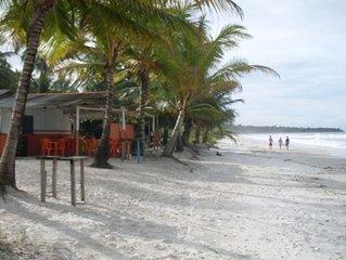 Casa de praia na Vila de  Mamoan a 100 da praia