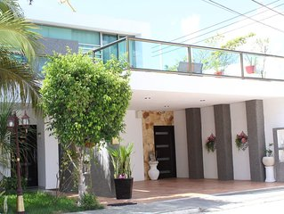 Casa andrade is located near chichen itza and tourist places