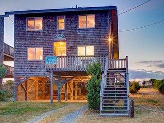 Beach Adventures - Improved 3 Bedroom Oceanfront Home in Avon