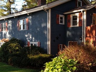 Lovely open concept three story yr round waterfront home on Lake Winnisquam in N
