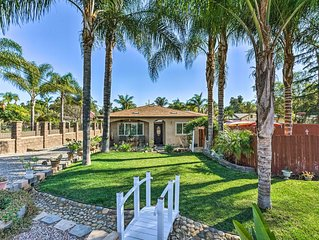 Fallbrook Home w/Grill Near Temecula Wine Country!
