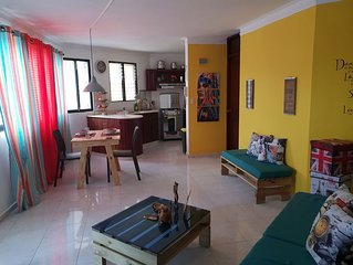 Beautiful 1bd Aparment ready for your Visit to Santiago! Near to Everything!!