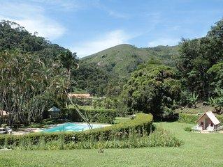 Um Paraíso em Teresópolis - 6 quartos