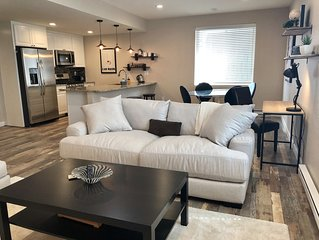 Home away from Home. Spacious  and quiet basement apartment sanctuary.