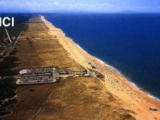 Pavillon  indépendant en bordure de la dune.