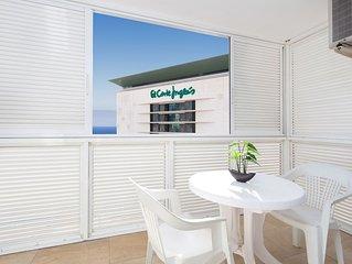 Moderno apartamento con vistas al mar y a la ciudad, en el centro de Santa Cruz
