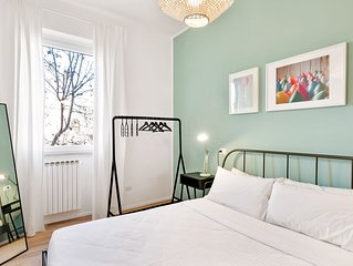 Modern and bright 2 bed flat near Vatican Museums