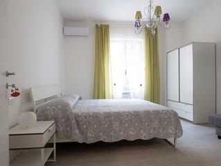 Elegante appartamento con ampia terrazza e parcheggio