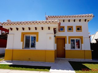 Casa Irlanda: Delux Detached Villa + Private Pool on 5* Mar Menor Golf Resort