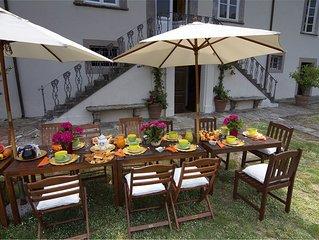 Last Availability. Beautiful Villa 18th century near Lucca