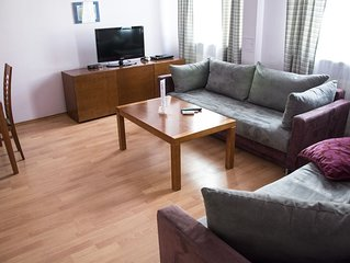M18 apartment in Stare Miasto with WiFi.