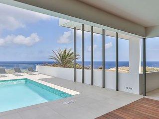 zeer luxe NIEUW penthouse villa met spectaculair zeezicht, dicht bij t strand