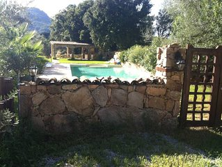 Sartene: Demeure  de caractère avec grande piscine classée 2 étoiles