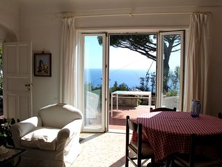 Villetta Rosetta, vista mare con giardino