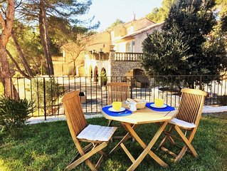 260 M2 STONE HOUSE BETWEEN AIX-EN-PROVENCE AND LUBERON, NATURAL POOL