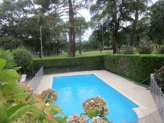 villa spacieuse sur golf de Seignosse + piscine;proche ocean et lac Hossegor