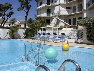 Appartamento trilocale in Residence a 50 mt dal mare