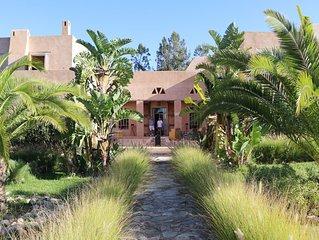 Prachtige villa in kasba stijl met verwarmd zwembad en petanque piste!