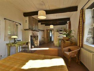 Vacances dans le Sud de l'Ardeche dans une belle vieille maison en pierres