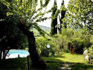 Fienile con piscina nella splendida campagna Toscana