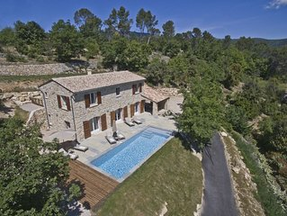 PERFECTION IN PROVENCE - GORGEOUS HOUSE - STUNNING VIEWS / HEATED POOL  FAYENCE